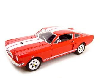1966 SHELBY MUSTANG GT350 RED 1:18 DIECAST MODEL