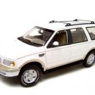 FORD EXPEDITION EDDIE BAUER EDITION WHITE 1:18 MODEL