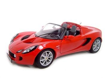 LOTUS ELISE RED 1:18 DIECAST MODEL