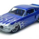 1967 SHELBY GT500KR 1/18 DIECAST MODEL BLUE