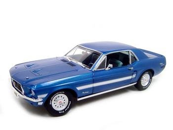 1968 FORD MUSTANG GT DREAM GARAGE CALIFORNIA SPECIAL 1:18
