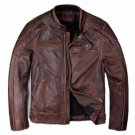 Bomber Leather jacket biker leather jacket