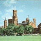 Washington DC, Smithsonian Institution, old unused chrome Postcard