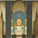 Washington DC, National Shrine of the Immaculate Conception - old unused Postcard