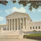 Washington DC – The Supreme Court Building - 1950s unused Postcard