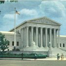 USA, Washington DC – The Supreme Court Building – 1950s unused Postcard
