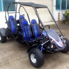 TrailMaster Blazer 4 150cc Go Kart Full Size 4 Seater Family Go Cart
