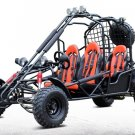 200cc Size Go Kart 4-Seater 169cc Off-Road Fully Automatic - DF200GKE