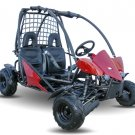 125cc Go Kart With 3-Speed Semi-Automatic