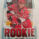 Joe Jensen 2008-09 UD MVP Rookie Card