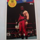Kane 2015 Topps Heritage WWE Rookie Of The Year Insert Card