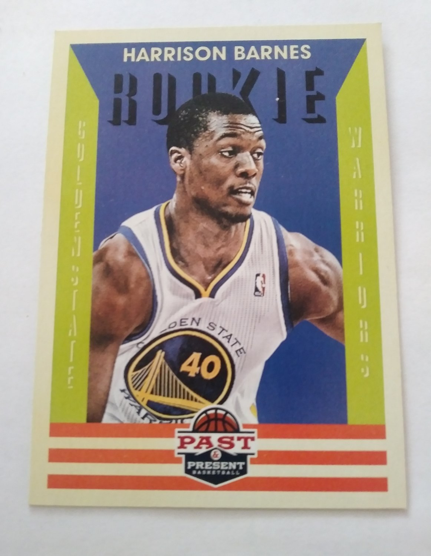 Harrison Barnes 2012-13 Past & Present Rookie Card
