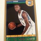 Gorgui Dieng 2013-14 NBA Hoops Gold Rookie Card