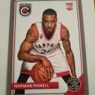 Norman Powell 2015-16 Complete Silver Rookie Card