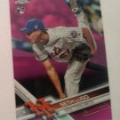 Seth Lugo 2017 Topps Chrome Pink Refractor Rookie Card