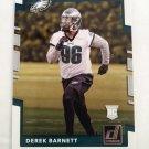 Derek Barnett 2017 Donruss Rookie Card