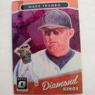 Mark Trumbo 2017 Optic DK Purple Insert Card
