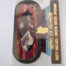 Rusty Wallace 1997 VIP Ring Of Honor Die Cuts Wallace's Car Insert Card