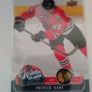 Patrick Kane 2008-09 UD MVP Winter Classics Insert Card