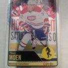 Travis Moen 2012-13 O-Pee-Chee Rainbow Insert Card