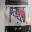 New York Rangers 2007-08 O-Pee-Chee Team Checklist Insert Card