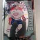 Jacob De La Rose 2015-16 O-Pee-Chee Platinum Rookie Card
