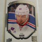 Rick Nash 2015-16 Upper Deck UD Portraits Insert Card
