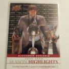 Alexander Ovechkin 2009-10 Upper Deck Season Highlights Insert Card