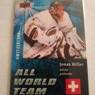 Jonas Hiller 2009-10 Upper Deck All World Insert Card