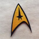 STAR TREK COMMAND LOGO EMBROIDERY IRON ON PATCH BADGE
