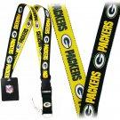 NFL Green Bay Packers two tone Breakaway Lanyard