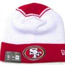 San Francisco 49ers  Team Cuffed Beanies / Knit Caps Fall with Raised Puff logo