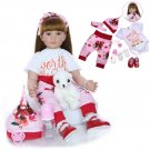 KEIUMI 24-inch Silicone Baby Doll Toy