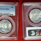 1963 PCGS MS63 Franklin Half Dollar