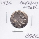 1936 Buffalo Nickel US Coins VERY NICE