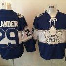 2017 100th Anniversary Toronto Maple Leafs 29 William Nylander blue jersey