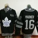 2017 100th Anniversary Toronto Maple Leafs 16 Mitchell Marner black jersey style 2