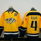 2017 Hockey Jersey Nashville Predators 4 Ryan Ellis Yellow