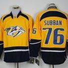 2017 Hockey Jersey Nashville Predators 76 P. K. Subban Yellow