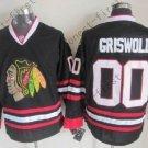 2016 Chicago Blackhawks Hockey Jersey #00 Clark Griswold Black