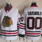 2016 Chicago Blackhawks Hockey Jersey #00 Clark Griswold White style 1