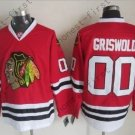 2016 Chicago Blackhawks Hockey Jersey #00 Clark Griswold Red