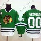 2016 Chicago Blackhawks Hockey Jersey #00 Clark Griswold Green