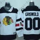 2016 Chicago Blackhawks Hockey Jersey #00 Clark Griswold White style 2
