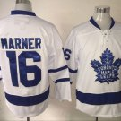 2017 New Toronto Leafs Jerseys 100th Anniversary 16 Mitch Marner White Hockey Jersey