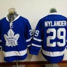 2017 New Toronto Leafs Jerseys 100th Anniversary 29 William Nylander Blue Hockey Jersey