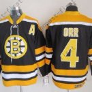 2016 Winter Boston Bruins Ice Hockey #4 Bobby Orr Jersey Black Style 1
