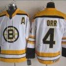 2016 Winter Boston Bruins Ice Hockey #4 Bobby Orr Jersey White