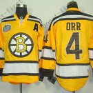 2016 Winter Boston Bruins Ice Hockey #4 Bobby Orr Jersey Orange