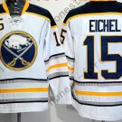 Buffalo Sabres 15 Jack Eichel Ice Hockey White Jerseys